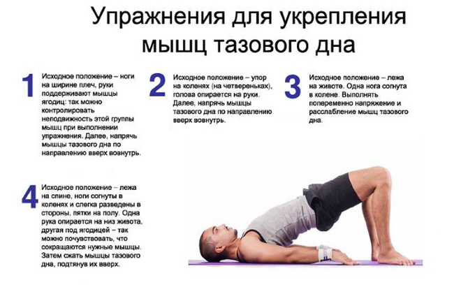 Как делать упражнения Кегеля для мужчин в домашних условиях