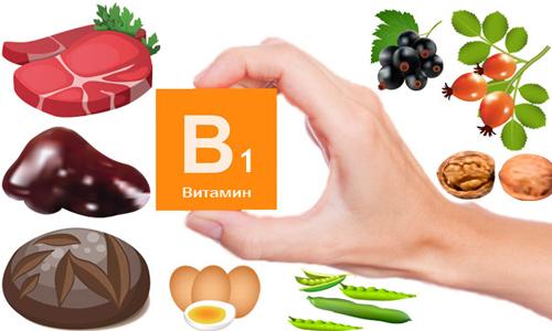 Яке захворювання розвивається при нестачі вітаміну В1?