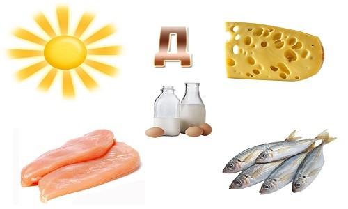 У яких продуктах міститься вітамін Д3