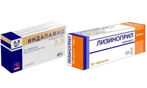 Чи можна приймати одночасно Лізиноприл та Індапамід?